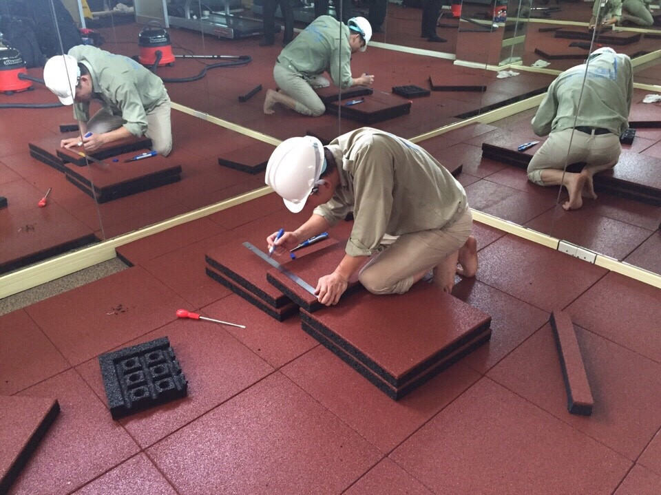 Rubber Turf Safety Surfacing-EPDM Rubber